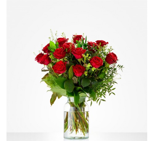 Lieflijk rode roos